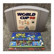 Videojuegos y Consolas: WORLD CUP 98·64. Lote 95603647