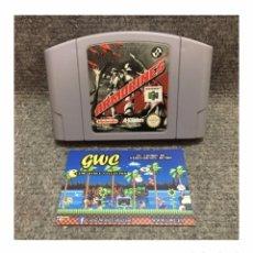 Videojuegos y Consolas: ARMORINES POJECT SWARM·64. Lote 95603691