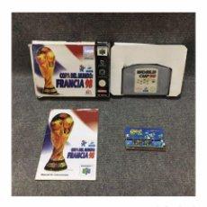 Videojuegos y Consolas: COPA DEL MUNDO FRANCIA 98·64. Lote 95603775