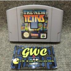 Videojuegos y Consolas: THE NEW TETRIS·64. Lote 95604103
