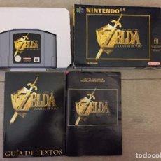 Videojuegos y Consolas: JUEGO (THE LEGEND OF ZELDA (OCARINA OF TIME) NINTENDO 64 PAL VERSION AÑO 1998. Lote 95629807