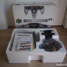 Videojuegos y Consolas: NINTENDO 64 N64 SMOKE EDITION CONSOLA NINTENDO 64 GRIS HUMO PAL. Lote 95671559
