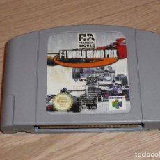 Videojuegos y Consolas: N64 NINTENDO 64 JUEGO F-1 WORLD GRAND PRIX VERSIÓN ESPAÑOLA. Lote 95681075