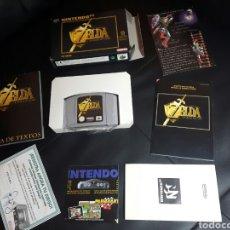 Videojuegos y Consolas: ZELDA OCARINA OF TIME NINTENDO 64 COMPLETISIMO. Lote 95707759