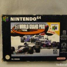 Videojuegos y Consolas: N64 NINTENDO 64 JUEGO F-1 WORLD GRAND PRIX VERSIÓN ESPAÑOLA. Lote 96063507