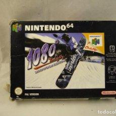 Videojuegos y Consolas: JUEGO 1080 SNOWBOARDING PARA NINTENDO 64. Lote 96063655
