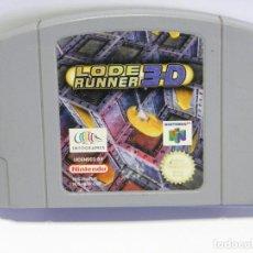 Videojuegos y Consolas: JUEGO LODE RUNNER 3D - NINTENDO 64 - N64. Lote 97682927