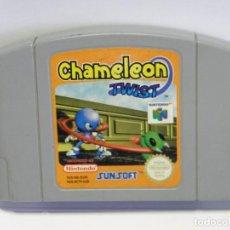 Videojuegos y Consolas: JUEGO CHAMALEON TWIST - NINTENDO 64 - N64. Lote 97683107