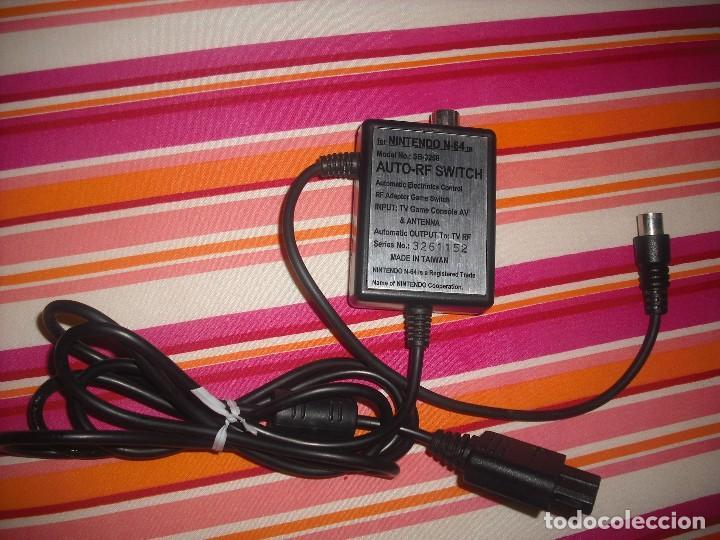 Videojuegos y Consolas: CABLE DE ANTENA RF PARA CONSOLA NINTENDO 64 - Foto 2 - 98583751