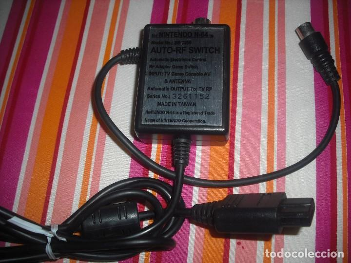 Videojuegos y Consolas: CABLE DE ANTENA RF PARA CONSOLA NINTENDO 64 - Foto 3 - 98583751