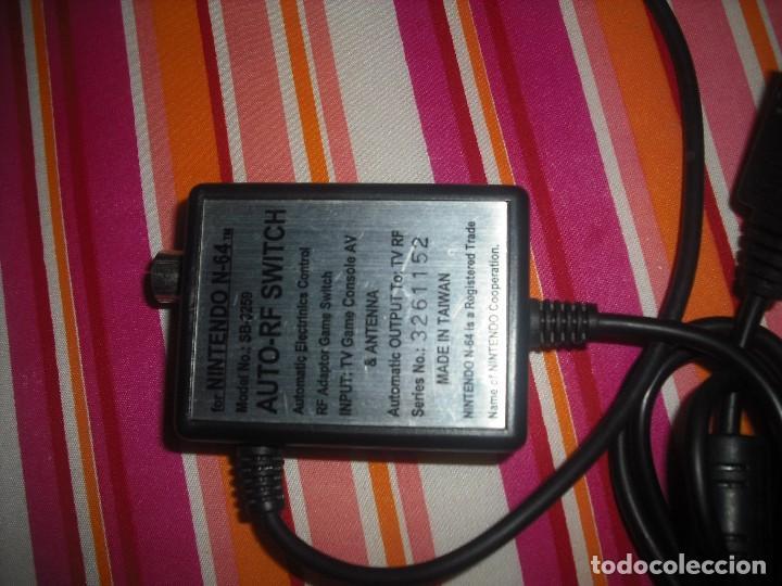 Videojuegos y Consolas: CABLE DE ANTENA RF PARA CONSOLA NINTENDO 64 - Foto 4 - 98583751