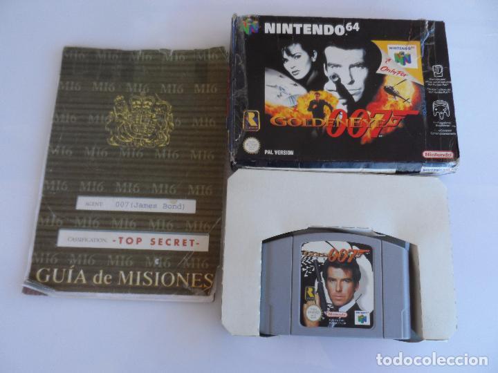 NINTENDO 64 GOLDENEYE 007 PAL ESP (CON GUIA) (Juguetes - Videojuegos y Consolas - Nintendo - Nintendo 64)