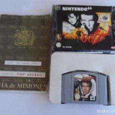 Videojuegos y Consolas: NINTENDO 64 GOLDENEYE 007 PAL ESP (CON GUIA). Lote 99134071