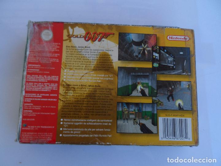 Videojuegos y Consolas: NINTENDO 64 GOLDENEYE 007 PAL ESP (CON GUIA) - Foto 2 - 99134071