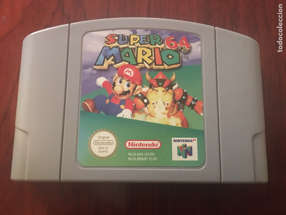 SÚPER MARIO 64 JUEGO PARA NINTENDO 64 (Juguetes - Videojuegos y Consolas - Nintendo - Nintendo 64)