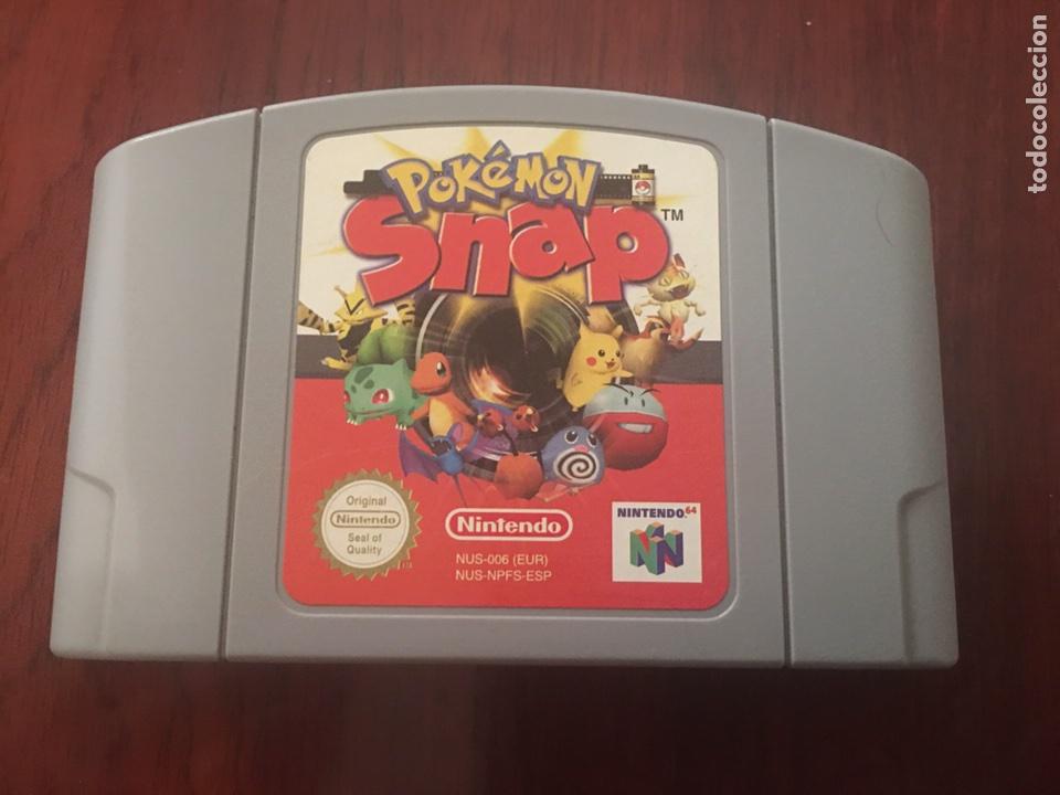 POKEMON SNAP NINTENDO 64 (Juguetes - Videojuegos y Consolas - Nintendo - Nintendo 64)