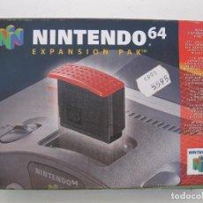 Videojuegos y Consolas: NINTENDO 64 - EXPANSION PAK - EN CAJA ORIGINAL Y CON INSTRUCCIONES - LE FALTA LA PIEZA ROJA.. Lote 99657751