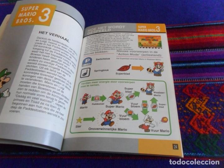 Videojuegos y Consolas: SUPER NINTENDO ALL STARS SUPER MARIO WORLD INSTRUCCIONES DE BÉLGICA. 70 PÁGINAS A COLOR. - Foto 3 - 101922083