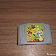 Videojuegos y Consolas: TONIC TROUBLE JUEGO NINTENDO 64 N64 PAL ESPAÑA. Lote 102599051