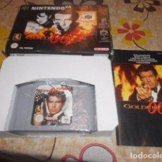 Videojuegos y Consolas: JUEGO NINTENDO 64 - GOLDENEYE - CON CAJA Y INSTRUCCIONES - VER FOTOS. Lote 103790559