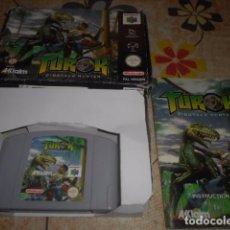 Videojuegos y Consolas: JUEGO NINTENDO 64 - TUROK - CON CAJA Y INSTRUCCIONES - VER FOTOS. Lote 103790971