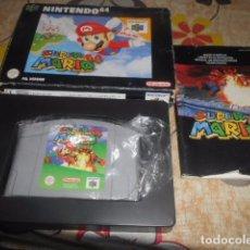 Videojuegos y Consolas: JUEGO NINTENDO 64 - SUPER MARIO 64 - CON CAJA Y INSTRUCCIONES - VER FOTOS. Lote 103791091