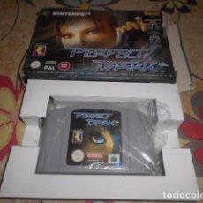 Videojuegos y Consolas: JUEGO NINTENDO 64 - PERFECT DARK - CON CAJA Y SIN INSTRUCCIONES - VER FOTOS. Lote 103791251