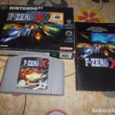 Videojuegos y Consolas: JUEGO NINTENDO 64 - F-ZERO X - CON CAJA Y INSTRUCCIONES - VER FOTOS. Lote 103791427