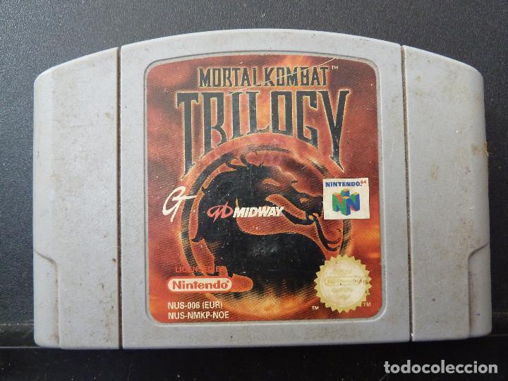 JUEGO - NINTENDO 64 - N64 - MORTAL KOMBAT TRILOGY (Juguetes - Videojuegos y Consolas - Nintendo - Nintendo 64)