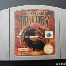 Videojuegos y Consolas: JUEGO - NINTENDO 64 - N64 - MORTAL KOMBAT TRILOGY. Lote 104457603