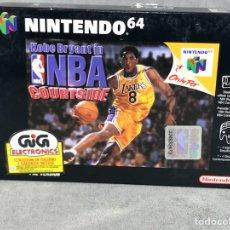 Videojuegos y Consolas: JUEGO NINTENDO 64 NBA COURTSIDE - PAL/ESP -NUEVO 100% ORIGINAL. Lote 109105540