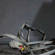 Videojuegos y Consolas: NINTENDO 64 SNES CABLE A/V ORIGINAL. Lote 109320895