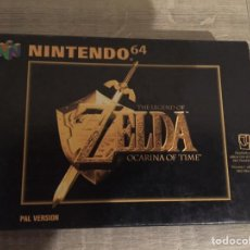 Videojuegos y Consolas: ZELDA OCARINA OF TIME NINTENDO 64. Lote 109499359