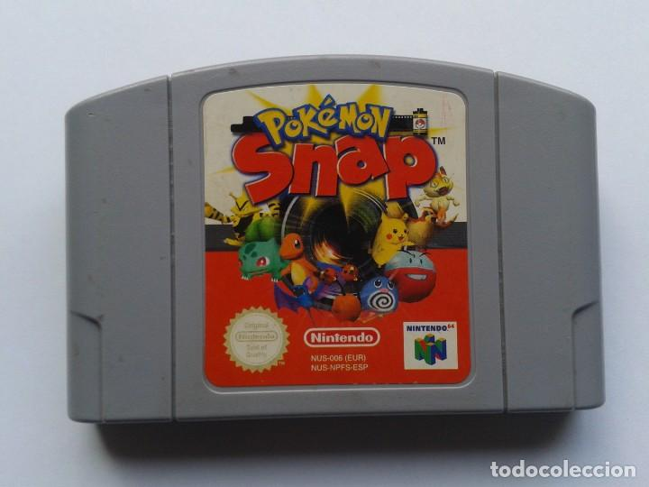 Juego Nintendo 64 Pokemon Snap Pleno Funcionami Comprar