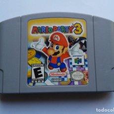 Videojuegos y Consolas: NINTENDO N64 MARIO PARTY 3 ORIGINAL & GENUINE NTSC USA VERSION NEAR MINT !!! R7154. Lote 278280518