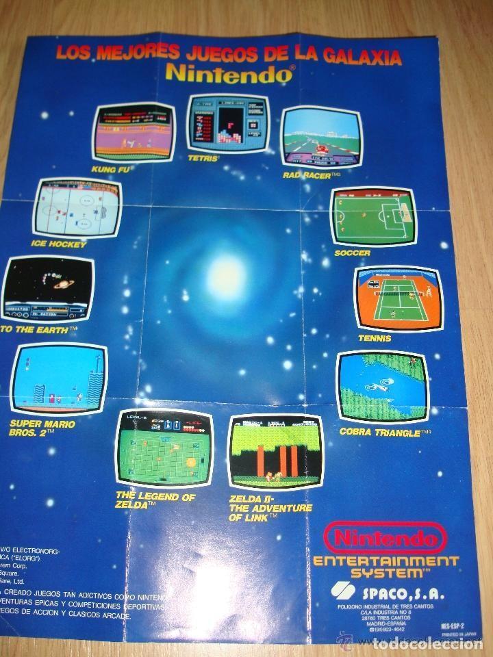 ANTIGUA TARJETA DE SUSCRIPCION PARA AMIGOS DE NINTENDO MAS POSTERS LOS MEJORES JUEGOS DE GALAXIAS 40 (Juguetes - Videojuegos y Consolas - Nintendo - Nintendo 64)