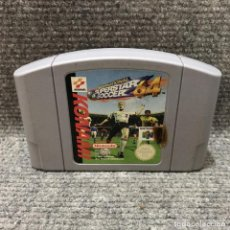 Videojuegos y Consolas: INTERNATIONAL SUPERSTAR SOCCER 64·NINTENDO 64. Lote 113001032