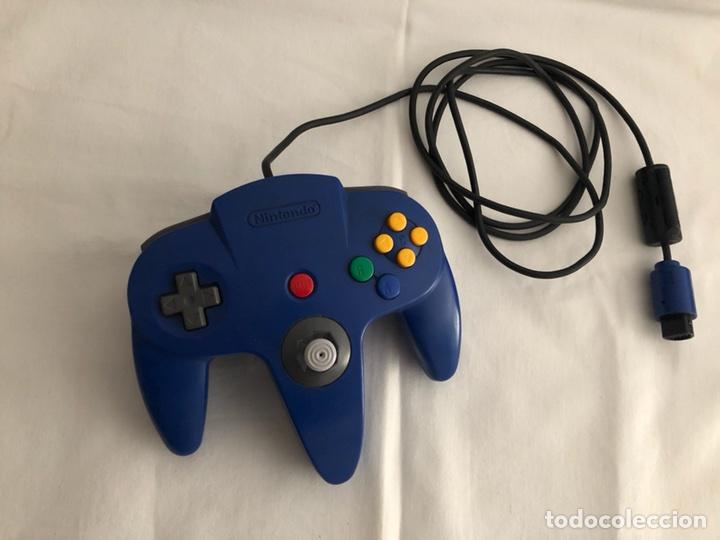 MANDO CONTROLLER PARA NINTENDO 64 ORIGINAL (Juguetes - Videojuegos y Consolas - Nintendo - Nintendo 64)