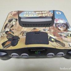 Videojuegos y Consolas: CONSOLA NINTENDO 64 STAR WARS VERSION EUROPEA PAL NUS-002EU N6 RARA. Lote 115577371