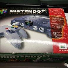 Videojuegos y Consolas: NINTENDO 64 EN CAJA COMPLETA. Lote 115711864