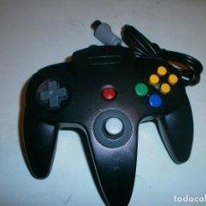 Videojuegos y Consolas: MANDO COMPATIBLE PARA NINTENDO 64 COLOR NEGRO NUEVO. Lote 116004343