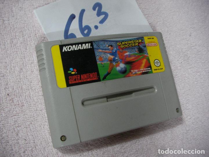 ANTIGUO JUEGO SUPERNINTENDO SUPERSTAR SOCCER (Juguetes - Videojuegos y Consolas - Nintendo - Nintendo 64)