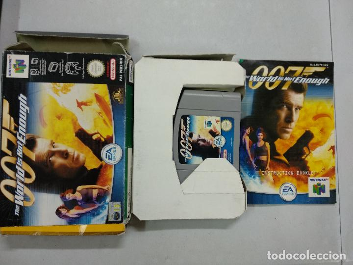 007 The World Is Not Enough Nintendo 64 N64 Buy Video Games