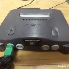 Videojuegos y Consolas: CONSOLA NINTENDO 64 + MANDO VERDE + CONTROLLER PAK + EXPANSION PAK + CABLEADO.. Lote 118583655