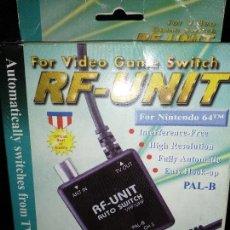 Videojuegos y Consolas: RF UNIT COMPATIBLE NINTENDO 64. Lote 120972451