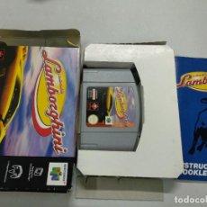 Videojuegos y Consolas: LAMBORGHINI AUTOMOBILI - NINTENDO 64 - N64 - PAL COMPLETO. Lote 121278371