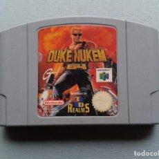Videojuegos y Consolas: JUEGO NINTENDO 64 DUKE NUKEM 3D PLENO FUNCIONAMIENTO SOLO CARTUCHO PAL EUR N64 R7543. Lote 121708667