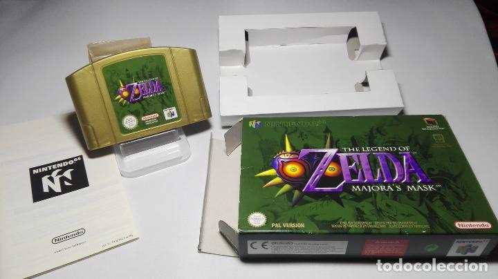 Zelda - Majora´s Mask ( Nintendo 64 - Pal - Euro) segunda mano