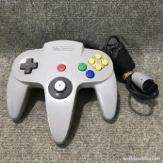 Videojuegos y Consolas: MANDO OFICIAL GRIS NINTENDO 64. Lote 121743135