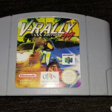 Videojuegos y Consolas: JUEGO V-RALLY EDICION 99 NINTENDO 64. Lote 121853687